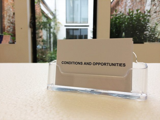 Conditions and opportunities 03